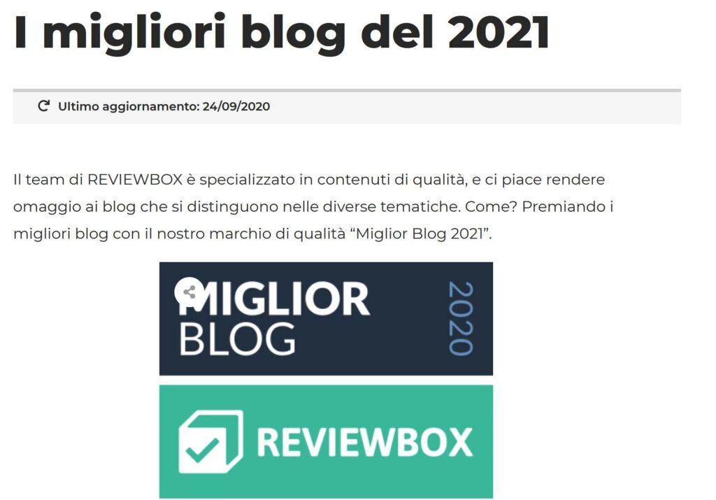 reviewbox recensioni web