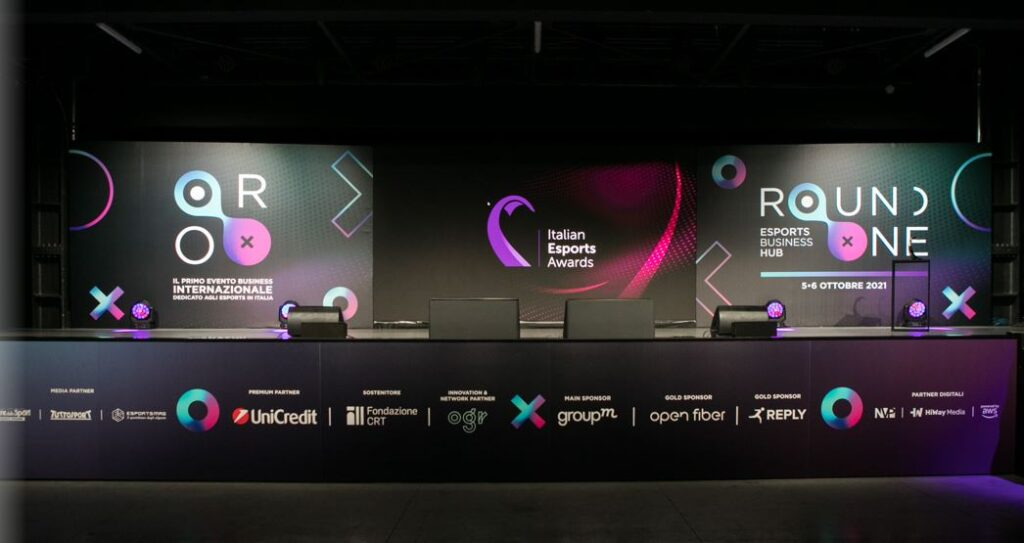 Round One Italian Esports Awards