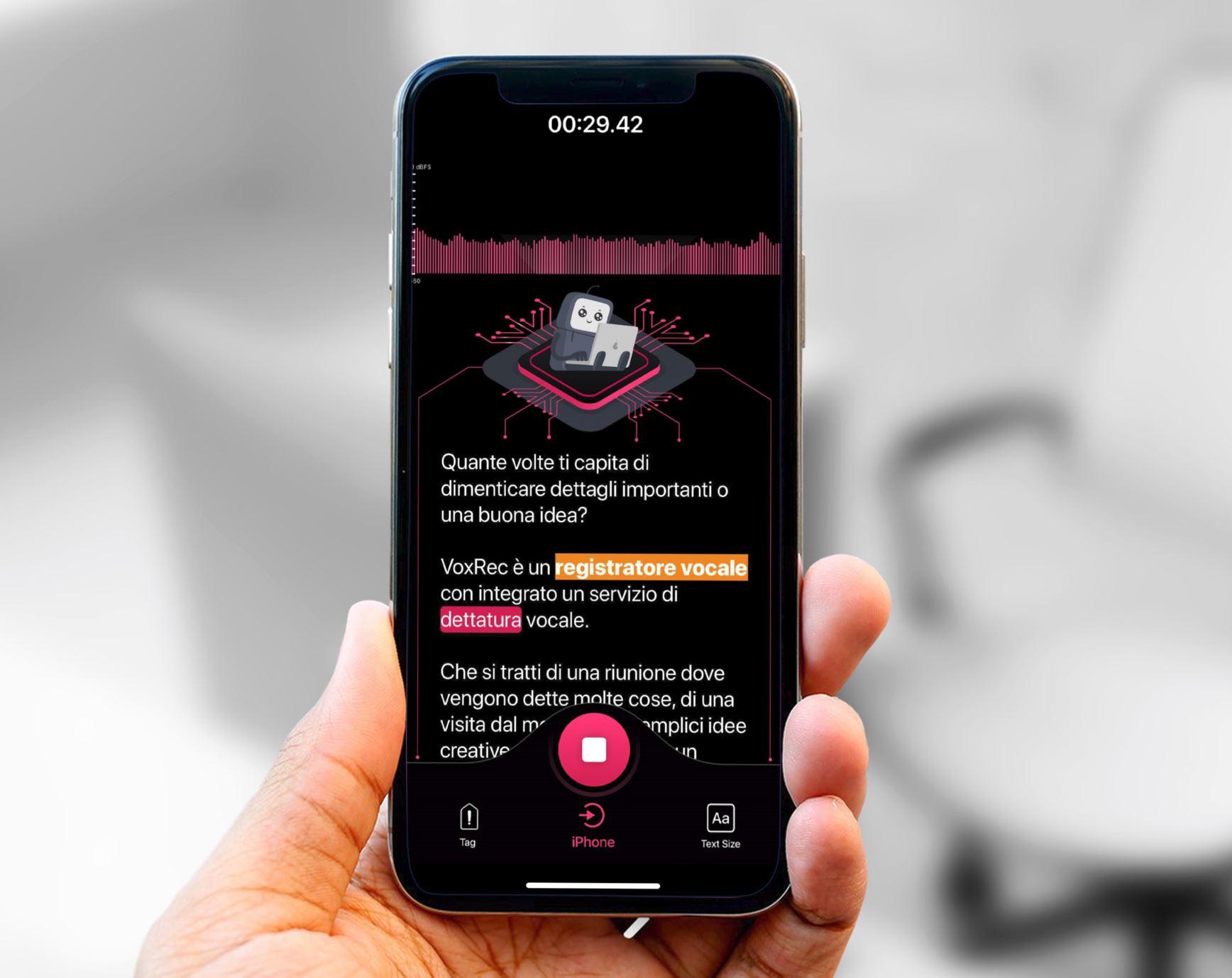 VoxRec, l'app per mettere giù gli appunti con la voce